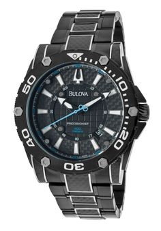 The Bulova Dive Watch http://edivewatches.com/product/bulova-champlain-black-dial-black-ion-plated-stainless-steel-watch/