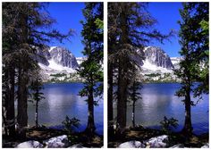 Now, this is what we call an astonishing view! To make your own scenery 3D effect, download 3DWiggle Software: www.3dwiggle.com #Crossview
