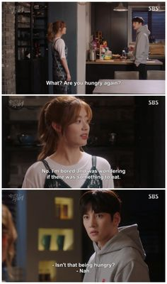 Suspicious partner #kdrama #jichangwook #namjihyun sometimes u cant tell the difference of boredom and hunger