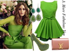"""""""Green with Envy"""" by chiclioness89 on Polyvore"""