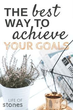 Goal Chart for Adults