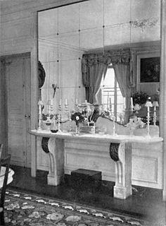 Ŧhe ₵oincidental Ðandy: The Well-Appointed Interior: The Legendary Elsie de Wolfe Elsie De Wolfe, Furniture Covers, Wicker Furniture, Magnolia Green, Morris Wallpapers, Vanity Design, Interior Decorating, Interior Design, Villa
