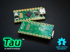 Featuring a 32-bit 48MHz ARM Cortex M0+ w/ 16K of ram the Tau is a lot of bang for your buck!