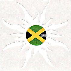 Reggae Land Muzik Store - Jamaica Flag - Sun  : Sticker, $6.98 (http://www.reggaelandmuzik.com/jamaica-flag-sun-sticker/)
