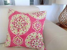 Linen Cushion Boho Pillows Bohemian Cushions by IslandHomeEmporium