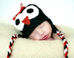 Connor in his Penguin Hat!