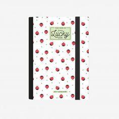 AGENDA GIORNALIERA FOTOGRAFICA SMALL 16 MESI 2017/2018 - LADYBUGS Milano, Office Supplies, Notebook, Fotografia, The Notebook, Exercise Book, Scrapbooking