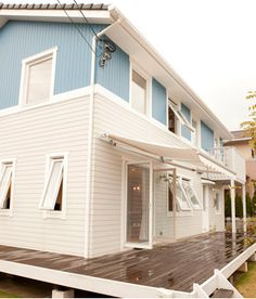 Sweden House, House Front Design, American Houses, Japanese House, California Style, Diy Interior, My House, Beach House, Home And Garden