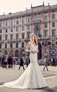 Vestido novia heredera swarovski