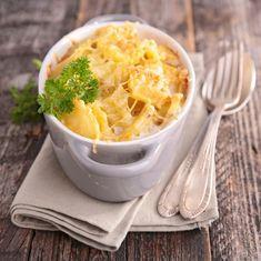 Gratin dauphinois : Recette du parfait gratin dauphinois Kohlrabi Gratin, Vol Au Vent, Mashed Potatoes, Macaroni And Cheese, Food And Drink, Ethnic Recipes, Parfait, Fondant, Dit