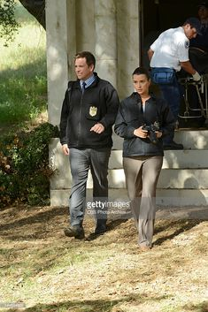 'Till Death Do Us Part' -- Terrorism threatens to shake the foundations of the Navy and NCIS, when the team continues to be eluded by the newest member of the NCIS Most Wanted Wall. Meanwhile, Jimmy Palmer's destination wedding is impacted by the case, on the season finale of NCIS, Tuesday, May 15 (8:00-9:00 PM, ET/PT) on the CBS Television Network. Pictured left to right: Michael Weatherly and Cote de Pablo