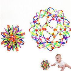 Timberlark Baby Kids Toys Fun Retractable Changeable Magic Ball Colorful Flower Ball (Large). #Timberlark #Baby #Kids #Toys #Retractable #Changeable #Magic #Ball #Colorful #Flower #(Large)