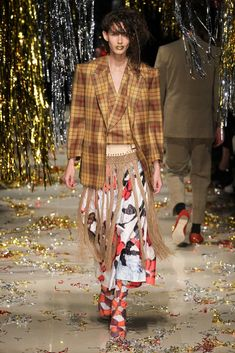 Andreas Kronthaler for Vivienne Westwood Fall 2015 Ready-to-Wear Fashion Show