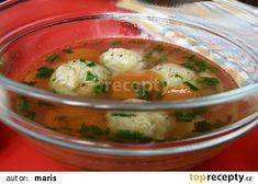 Drožďové knedlíčky recept - TopRecepty.cz Cheeseburger Chowder, Potato Salad, Food And Drink, Pizza, Soup, Potatoes, Meat, Chicken, Cooking