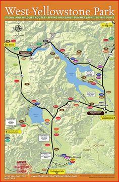 57 Best Spring in Yellowstone National Park & Around West