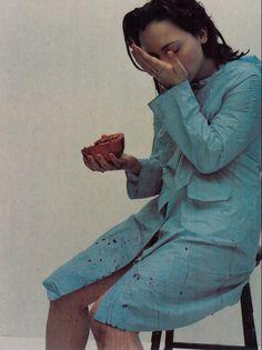 Christina Ricci by Mario Sorrenti for 'The Face', Feb 1998
