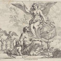 Astrologia, Cornelis Schut (I), 1618 - 1655 - Rijksmuseum