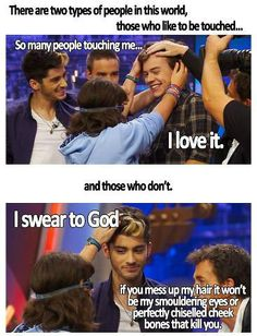 One Direction funny. I laughed so hard i cried! I'm just like zayn too. One Direction Humor, One Direction Pictures, I Love One Direction, Direction Quotes, Foto One, 5sos, Niall Horan, Liam Payne, Louis Tomlinson