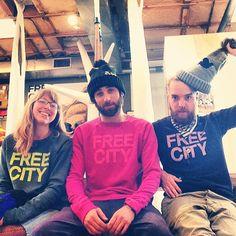 New FREECITY raglans at the #freecitysupershop!!! #freecity  (at Free City Supershop Supermat)