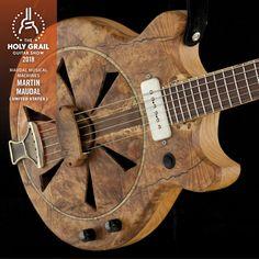 HGGS 2018: Martin Maudal, Maudal Musical Machines, United States www.maudalsmusicalmachines.com, www.facebook.com/m3guitars, www.instagram.com/MaudalMusicalMachines