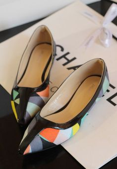2013 women genuine leather shoes sexy flat shoes women $29.20