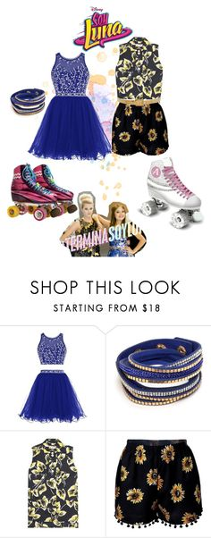 """""""soy luna"""" by maria-look on Polyvore featuring Marni and Alexander McQueen"""