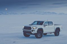 At the 2016 Chicago Auto Show, Toyota debuted its second-generation 2017 Tacoma TRD Pro pickup truck. Toyota 4x4, Toyota Tacoma 2017, Toyota Tacoma Trd Pro, Toyota C Hr, Toyota Trucks, Toyota Celica, Toyota Supra, Lifted Trucks, 4runner Trd Pro
