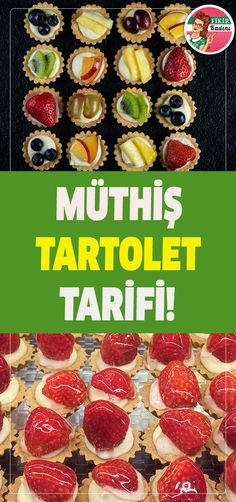 What is tartolet, how is it made? Dessert Recipes, Dinner Recipes, Desserts, Lunches And Dinners, Sweet Recipes, Tart, Muffin, Food Porn, Food And Drink