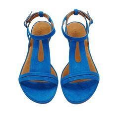 Coclico Spring 2012 Rocio turquoise flat sandals