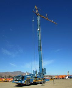 Liebherr - First MK 100 mobile construction crane arrived in Chile