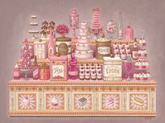© Mark Ryden | Paul Kasmin Gallery | The Art of Whipped Cream #ilustracion