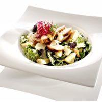 Recept : Caesar salát s kuřecím masem | ReceptyOnLine.cz - kuchařka, recepty a inspirace Potato Salad, Potatoes, Ethnic Recipes, Food, Potato, Essen, Meals, Yemek, Eten