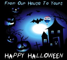 Show off your spooky side with this #Halloween image you can share with clients. #REMAX