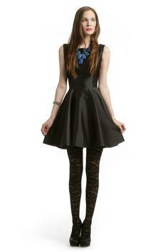 Christian Siriano  Black Mikado Dress  Rental $125