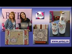 Decora caja con falso repujado y patinas - YouTube