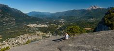 Photos and description of the hike to the summit of Stawamus Chief. This post describes the hike to the south peak, middle and north peak are not covered. Vancouver Photography, Hiking, Canada, Mountains, Travel, Walks, Viajes, Destinations, Traveling