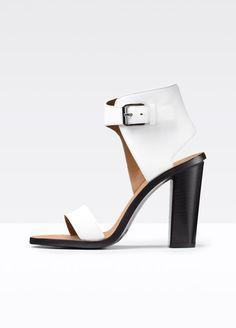 Nicole Leather Heel | Vince