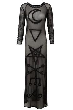 Lilith Mesh Maxi Dress [B]