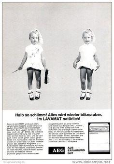 Original-Werbung/ Anzeige 1965 - AEG - ca. 150 x 230 mm