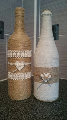 Twisted Twine Doncaster decorative bottles