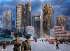 Pyongyang. From series: North Korea - A Life between Propaganda and Reality.