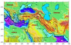 Gerede segment of the North Anatolian Fault - Mountain Beltway . Geography, Mountain, Earth