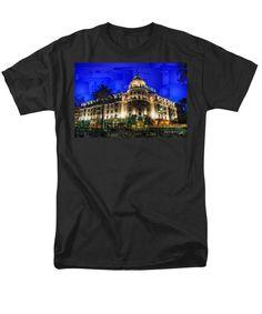 Men's T-Shirt (Regular Fit) - Le Negresco Hotel In Nice France