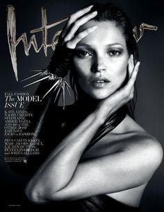 Kate Moss para Interview Magazine sept 13. Mert