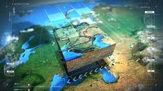 #2RISE TRANSNEFT INTERACTIVE MAP by 2RISE GmbH, via Behance