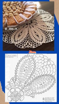 Crochet Doily Diagram, Crochet Doily Patterns, Crochet Motif, Free Crochet, Knit Crochet, Crochet Hats, Crochet Dollies, Crochet Flowers, Fillet Crochet