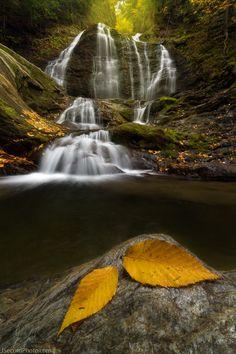 Moss Glen Falls by Jon Secord on 500px