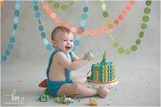 Indianapolis 1st birthday photography by KristeenMarie