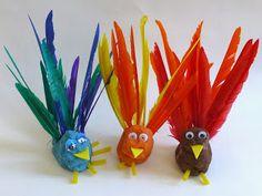 Craftulate: Play Dough Birds
