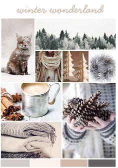 Moodboard: Winter Wonderland by www.Creatively-Driven.com